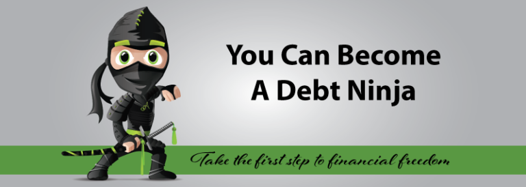 How to Become a Debt Ninja – Ways to Slash Your Debt
