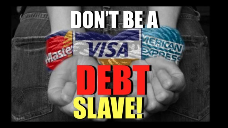 You are currently viewing Don't Be A Slave To Debt